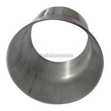 "CXRacing 2mm Thick 3"" Long Weld On Aluminum Reducer Pipe 3.5"" to 3"" OD"
