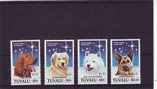 Tuvalu-sg698-701 Mnh 1994 Año Del Perro