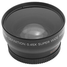 52mm 0.45X Super Wide Angle Macro Lens Fisheye for Nikon D3200 D3100 D5100 D5200