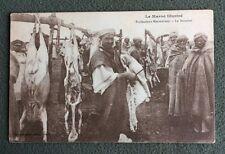 CPA. Le MAROC Illustré. Professions Marocaines. LE BOUCHER. Sépia.