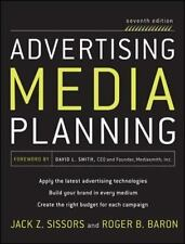 Advertising Media Planning by Roger Baron and Jack Z. Sissors (2010, Hardcover)