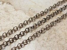 Vintage Sterling Silver 925 Snake Chain Necklace 18 inches long
