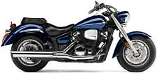 Cobra Slip-On Muffler w/Scalloped Tip Chrome fits Yamaha XVS1300A 07-09,11-14