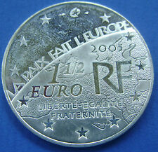 Frankrijk - France :  1½ Euro 2005 - 1.5 Euro 2005 - End of world war II PR/XF