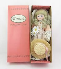 Brinn's Collectible Porcelain Doll: Daisy (14 inches)