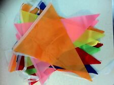6.6M Flag Bunting Garland Pennant Garden Party Fete Pub Decoration Multicolor