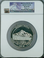 2010 5 OZ  MOUNT HOOD NGC MAC MS69 DPL DMPL VERY RARE LOWEST DPL POP *