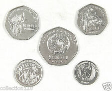 Sao Tome and Principe Coins Set of 5 Pieces 1997 UNC