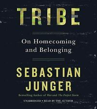 Tribe : On Homecoming and Belonging by Sebastian Junger (2016, CD, Unabridged)