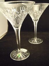Waterford Crystal® Seahorse Martini Stems, MIB, Vintage pieces!