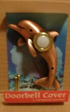 Company's Coming DBZ-025 Dolphin Bronze Doorbell Cover, New, Free Shipping