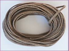 2mm Waxed Cotton Cord Alabaster 10 yard pack (30 feet)