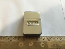 Rare Zippo Lighter Vintage 1940's Prototype Chromed Three Barrel Salesman Sample