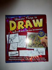 ULTIMATE THINGS TO DRAW-8 BOOKS IN 1-BUILD SKILLS WITH OVER 80 DRAWINGS  B83
