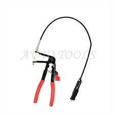 """24"""" Flexible Wire Long Reach Hose Clamp Plier Replace Fuel Oil Water Repair Tool"""