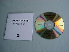 SUPREME CUTS Divine Ecstasy promo CD album Polica