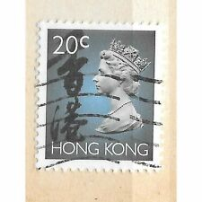 1992 QEII Hong Kong stamp for sale - 20c - catalogue value £1.75