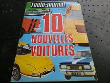 AUTO JOURNAL n° 6 de 70 OPEL COMMODORE GSE/10 nouveautés de GENEVE Très bon état