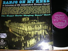 JAZZ/DIXIELAND-THE MINSTRELS ARE COMING BANJO ON MY KNEE UK PLUM LONDON HA-R 26