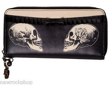 Banned Apparel Stand Your Ground Wallet Gothic Purse Black Black