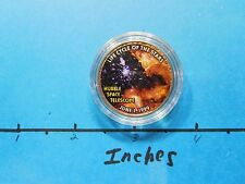 HUBBLE SPACE TELESCOPE 1999 PIC LIFE CYCLE OF STARS NASA KENNEDY HALF DOLLAR #2