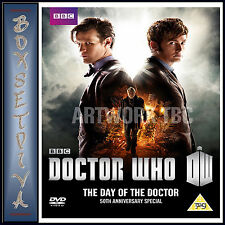DOCTOR WHO - THE DAY OF THE DOCTOR - 50TH ANNIVERSARY SPECIAL **BRAND NEW DVD **