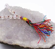 Multi-Stone Chakra Japa Mala Prayer 105 Beads Rosary Meditation Reiki Gemstones