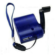 USB Hand Crank Cell Phone Emergency Charger Manual Dynamo For MP4 MP3 PDA New