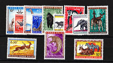 BELGIUM CONGO 1959 WILD ANIMALS SET SG 339-350 MNH.