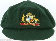 AUSTRALIA Classic Melton Green Baggy Test Ashes Cap / Hat Best Quality Ltd Stock