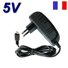 "Adaptateur Secteur Chargeur 5V Micro USB Tablette HP TouchPad PC 9.7"" / 10.1 """