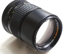 "MINOLTA MD TELE ROKKOR-X 135mm f2.8 for mirrorles cameras JAPAN ""read"""