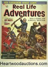 Real Life Adventures Feb 1958 Ed McBain- 1st App. Rudy Nappi, Dane Arden Al Ross