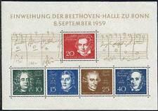 ALLEMAGNE - RFA - BEETHOVEN / 1959 BLOC # 1 ** / COTE 45.00 € (ref 3960)