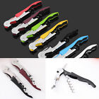 High quality Metal Stainless Corkscrew Waiters Wine Beer Bottle Opener Good YXF