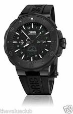 BRAND NEW Oris ProDiver Force Recon GMT Black Watch 747 7715 7754-Set