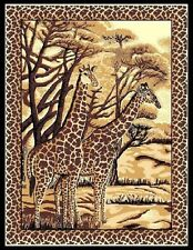 Modern Giraffes Animal Print Carpet 5 X 8 Area Rug