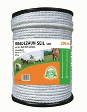 3280.8ft Fencing Rope Wire Rope Fence Cord 0.2in, 6 Niro Ladder,Elektroseil
