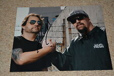 MIKE MUIR & DAVE LOMBARDO signed autograph In Person 8x10 (20x25 cm) SUICIDAL