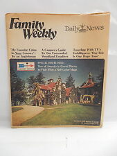 Family Weekly Magazine April 1972 Bowling Green Daily New Washington Irving Home