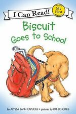 Biscuit Goes to School (My First I Can Read), Capucilli, Alyssa Satin, Good Book
