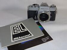 Vintage Nikon Nikkormat EL SLR 35 mm Camera Body Only