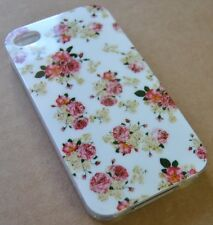 CUSTODIA COVER per APPLE IPHONE 4 4G 4S SILICONE CASE ROSE ROSA