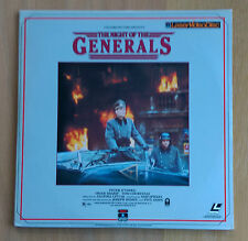 The Night of the Generals (1966) Laserdiscs 30430 Near Mint Condition
