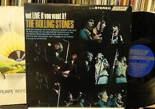 ROLLING STONES got LIVE if you want it! Bell Sound PS-493 plays NM