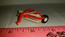 1/64 ertl farm toy custom agco allis chalmers side delivery hay rake free ship!
