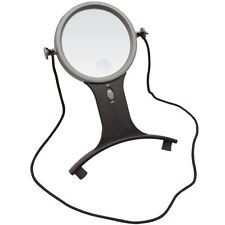 2.5X w/6X Bifocal Lighted LED Hands Free Magnifier - Open Box Special!