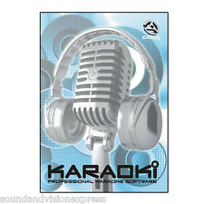 PCDJ Karaoki Pro Karaoke PC Software for Party or Home + Songbook Creation +More