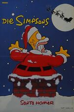 THE SIMPSONS - A3 Poster (ca. 42 x 28 cm) - Simpson Clippings Fan Sammlung NEU