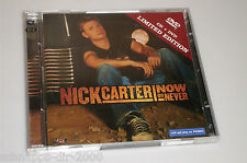 NICK CARTER NOW OR NEVER LIMITED EDITION CD & DVD MIT HELP ME - I STAND FOR YOU